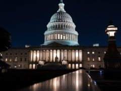 The Senate had been stalled on the Democrats' 1.9 trillion dollar Covid-19 relief bill (AP/J. Scott Applewhite)