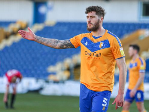 Ryan Sweeney is suspended for Mansfield (Isaac Parkin/PA)