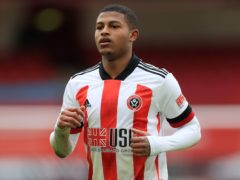 Sheffield United's Rhian Brewster has revealed he has been racially abused on social media (Mike Egerton/PA)