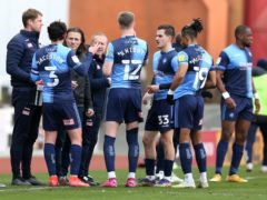 Wycombe manager Gareth Ainsworth insists his side will fight to the end in their battle against relegation (Barrington Coombs/PA)