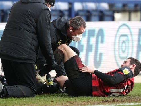 Lewis Cook will be out of action for a number of months (Martin Rickett/PA)