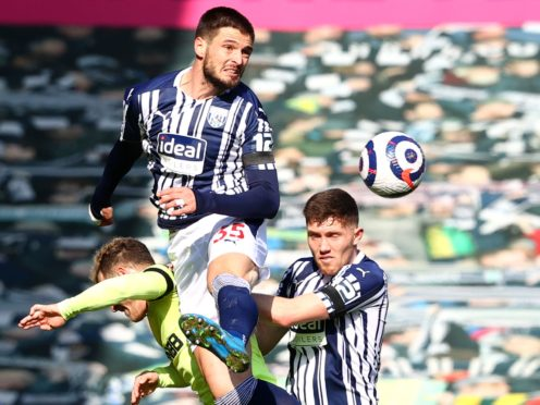 Okay Yokuslu (centre) knows West Brom miss their chance against Newcastle (Michael Steele/PA)