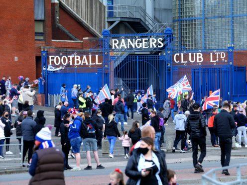 Rangers win 55th Scottish Premiership title (Robert Perry/PA)