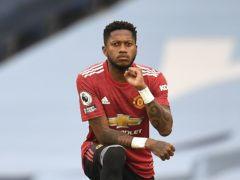 Manchester United's Fred was subjected to racist abuse after defeat to Leicester (Peter Powell/PA)