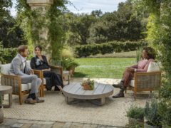 The duke and duchess were interviewed by Oprah Winfrey (Joe Pugliese/Harpo Productions/PA)