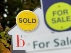 The number of home sales recorded in February surged by nearly 50% compared with a year earlier (Andrew Matthews/PA)