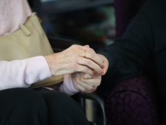 The figures cover deaths of care home residents in all settings, not just in care homes (Aaron Chown/PA)
