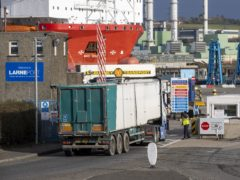 It could cost a local authority almost £5 million to deliver post-Brexit food standards checks at a Northern Irish harbour once full regulation is introduced (Liam McBurney/PA).