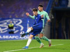 Kai Havertz (left) wrestled control of Chelsea's commanding victory over Everton (Mike Hewitt/PA)
