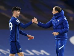 Chelsea boss Thomas Tuchel (right) saw fellow German Kai Havertz impress against Everton (Glyn Kirk/PA)