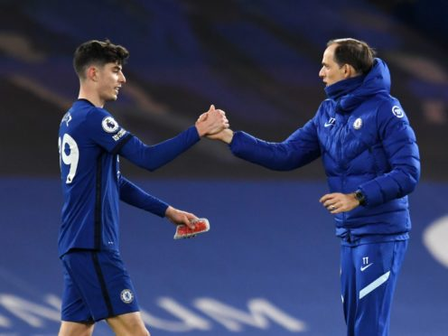 Kai Havertz made the right impression on Thomas Tuchel against Everton (Glyn Kirk/PA)