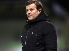 Forest Green manager Mark Cooper is preparing to face in-form Bolton (David Davies/PA)