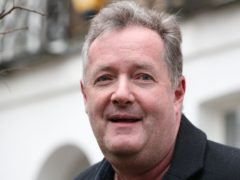 Piers Morgan made a trip back to the GMB studio on Wednesday to collect his belongings (Jonathan Brady/PA)