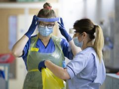 A UK report on PPE spending was published in November (Jane Barlow/PA)