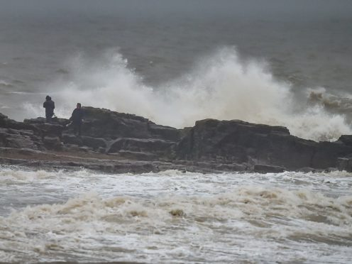 Winds are forecast to reach 70mph in coastal areas (Ben Birchall/PA)