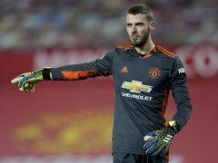 David de Gea could return for Man Utd (Tim Keeton/PA)