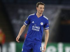 Jonny Evans has missed Leicester's last two games due to calf problem (Nick Potts/PA)