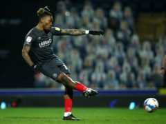 Brentford's Ivan Toney scores the winner from the spot at Blackburn (Tim Goode/PA)