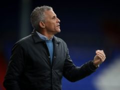 Keith Curle delivered his first victory as Oldham boss (Martin Rickett/PA)
