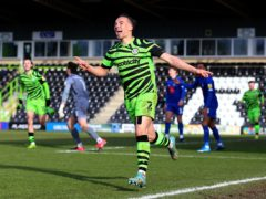 Kane Wilson helped Forest Green to victory (Nigel French/PA)