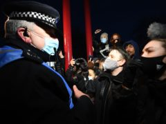 Organisers of the vigil in memory of Sarah Everard said senior officers from the Metropolitan Police had been obstructive and refused to engage with them (Victoria Jones/PA)