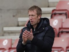 Brighton manager Graham Potter saw his side claim a fifth away win of the season (Andrew Couldridge/PA)