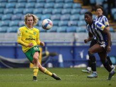 Todd Cantwell scored Norwich's winner (Martin Rickett/PA)