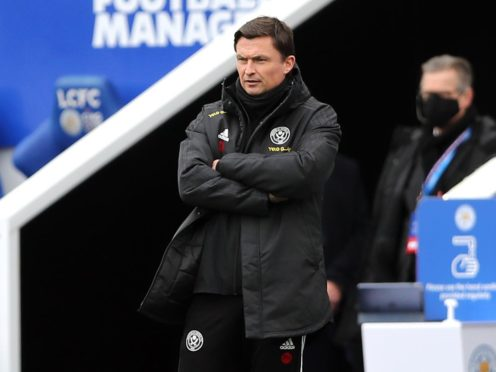 Paul Heckingbottom has been put in caretaker charge of Sheffield United until the end of the season (Molly Darlington/PA).