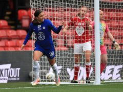 Chelsea Women eased to glory with a routine victory over Bristol City (Mike Egerton/PA)