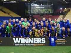 Chelsea won successive Continental Cup finals (Mike Egerton/PA)