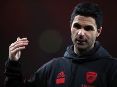 Mikel Arteta wants to see his side return to his high standards when they travel to West Ham (Nick Potts/PA)