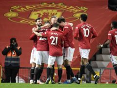Manchester United beat West Ham on Sunday (Peter Powell/PA)