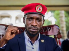 Uganda's main opposition leader Bobi Wine (AP/Nicholas Bamulanzeki, File)