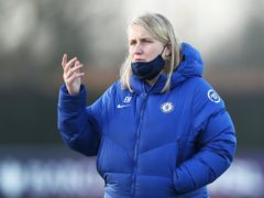 """Emma Hayes insisted she was """"grateful"""" Chelsea only conceded one away goal against Wolfsburg (Tim Markland/PA)"""