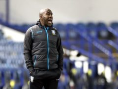 Darren Moore has still not secured his first win at Wednesday (Danny Lawson/PA)