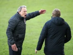 Neil Warnock appeals to fourth official Trevor Kettle (Nick Potts/PA)