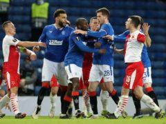 Glen Kamara has accused Slavia Prague's Ondrej Kudela of racial abuse, which the defender denies (Andrew Milligan/PA)