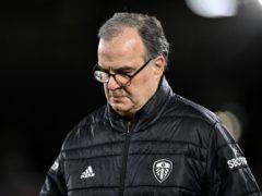 Marcelo Bielsa believes Leeds' Premier League safety is not yet confirmed (Justin Setterfield/PA)