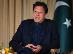 Pakistan's Prime Minister Imran Khan (BK Bangash/AP)
