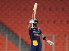 India captain Virat Kohli produced another impressive knock (Ajit Solanki/AP)