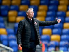 Nigel Adkins took a point from his first game as Charlton boss (Steven Paston/PA)
