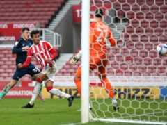 Jacob Brown scored the only goal as Stoke inflicted more misery on Derby (Martin Rickett/PA)
