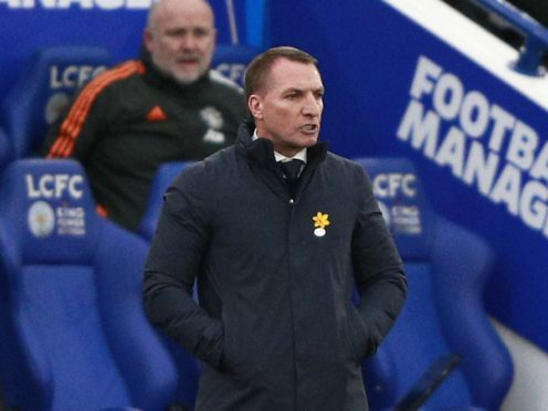 Brendan Rodgers wants Leicester to create history in this year's FA Cup (Ian Walton/PA)