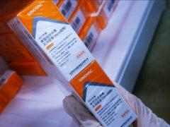 The Sinovac Covid-19 vaccine (Chinatopix Via AP)