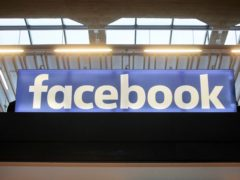 The report says Facebook is failing to clamp down on extremist groups using its platform (AP/Thibault Camus, File)