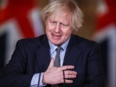 Prime Minister Boris Johnson spoke of 'repaying' the younger generation who have lost out on learning during the pandemic (Hannah McKay/PA)