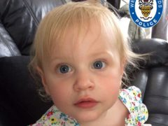 Lilly Hanrahan was 21-months-old when she suffered catastrophic injuries at the hands of Sean Sadler (Family handout/West Midlands Police/PA)
