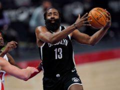 Brooklyn Nets guard James Harden (Carlos Osorio/AP)