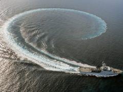 HMS Trent (Royal Navy/PA)