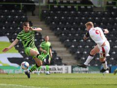 Eoin Doyle netted Bolton's winner at Forest Green (Bradley Collyer/PA)